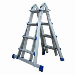 hpw-international alumexx telescopische ladder 4x4